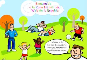 Zona Infantil web de la espalda