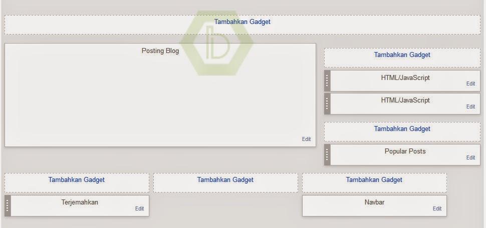 Membuat Menu Di Blogger Tanpa Edit HTML