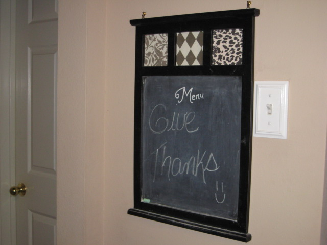 chalkboard make over tutorial