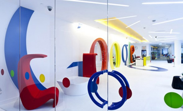 The New Google Office Is Designed For Energetic And Collaborative Work  Environment And Theme Of The Office Is So Strong. Labels: Creative Furniture  ...