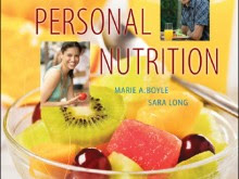 Personal Nutrition Seventh Edition by Marie A Boyle