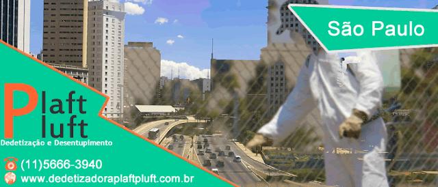 São Paulo    Dedetização e Desentupimento 24 Horas    (11)5666-3940 www.dedetizadoraplaftpluft.com.br
