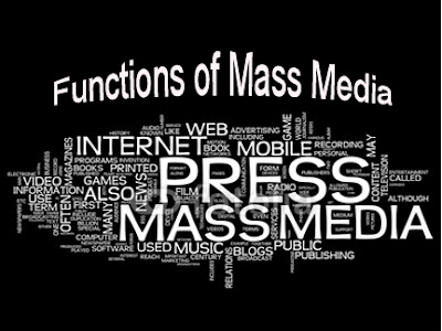 function of mass media The idea of an agenda-setting function of mass communication is an asserion that the audience learns these saliences from the mass media, incorporatng a similar set.
