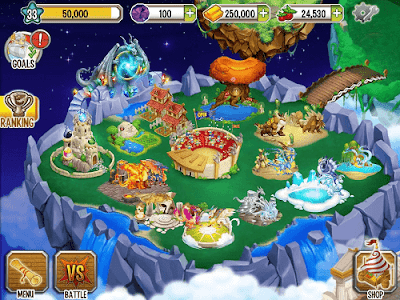Dragon City V3.8.0 Mod Apk (Lots of Money) 1