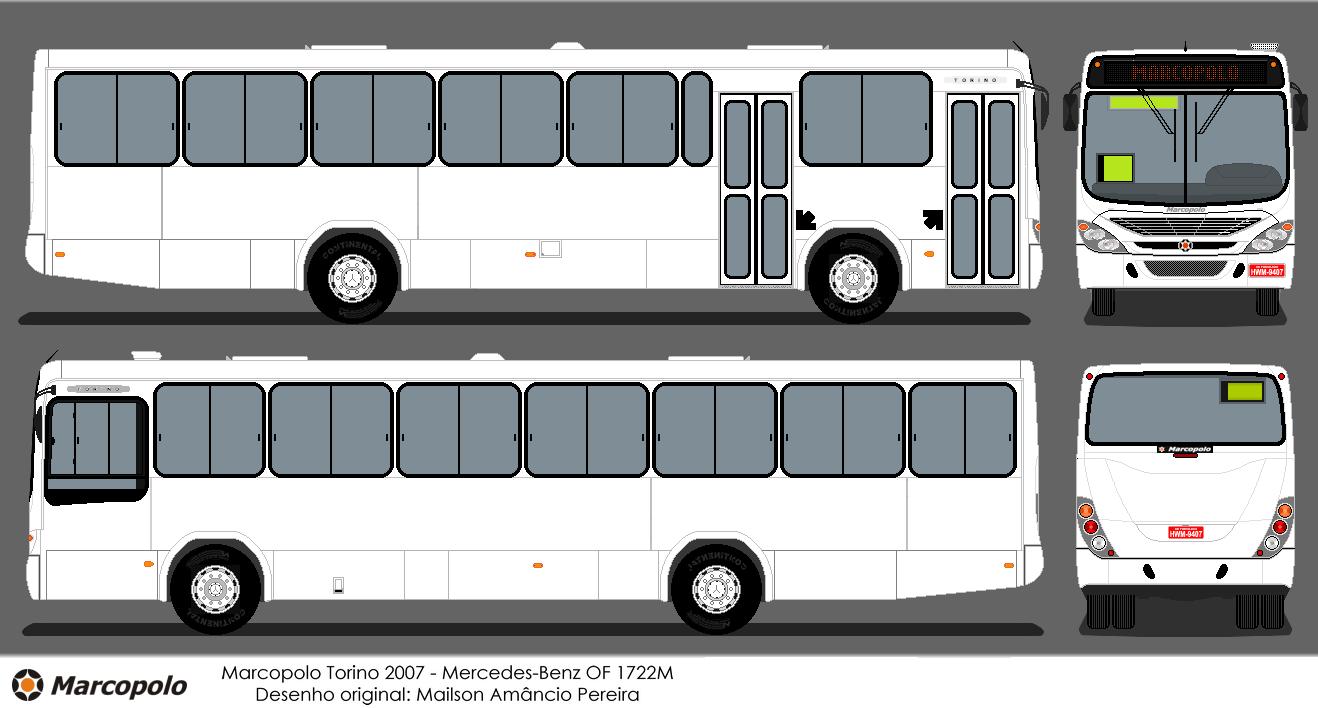 Marco Polo Torino : Buscar bus desenho de ônibus marcopolo torino g