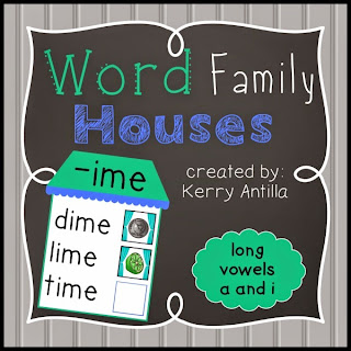 https://www.teacherspayteachers.com/Product/Word-Family-Houses-Long-Vowels-a-and-i-1751541
