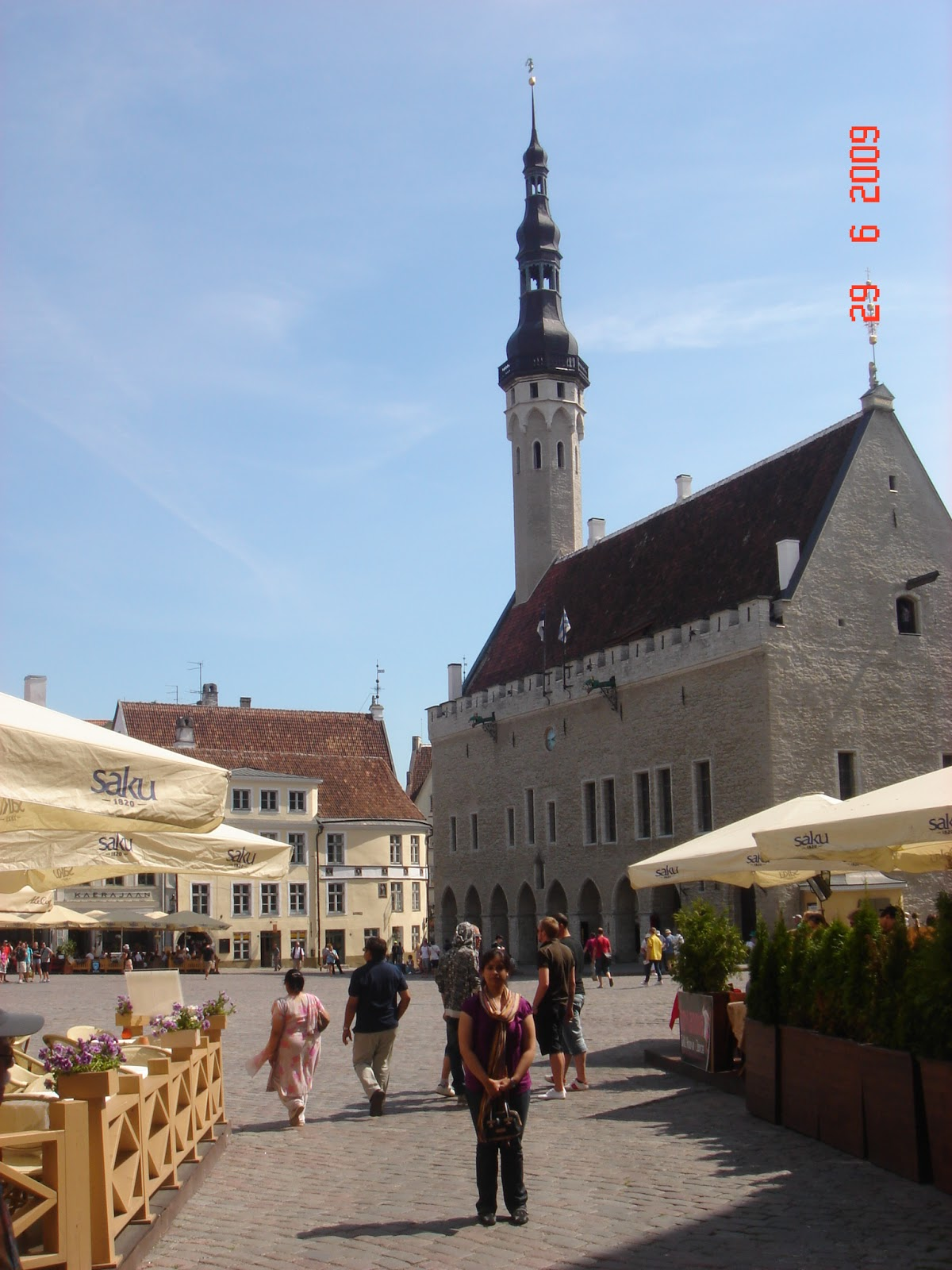Town Hall Square at Old Town Tallinn