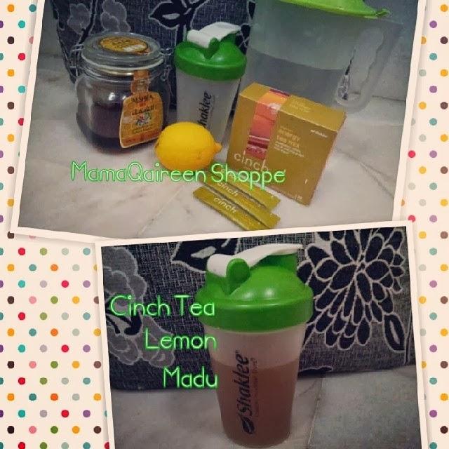Cinch Energy Tea Mix Shaklee - Teh Istimewa Menambah Tenaga