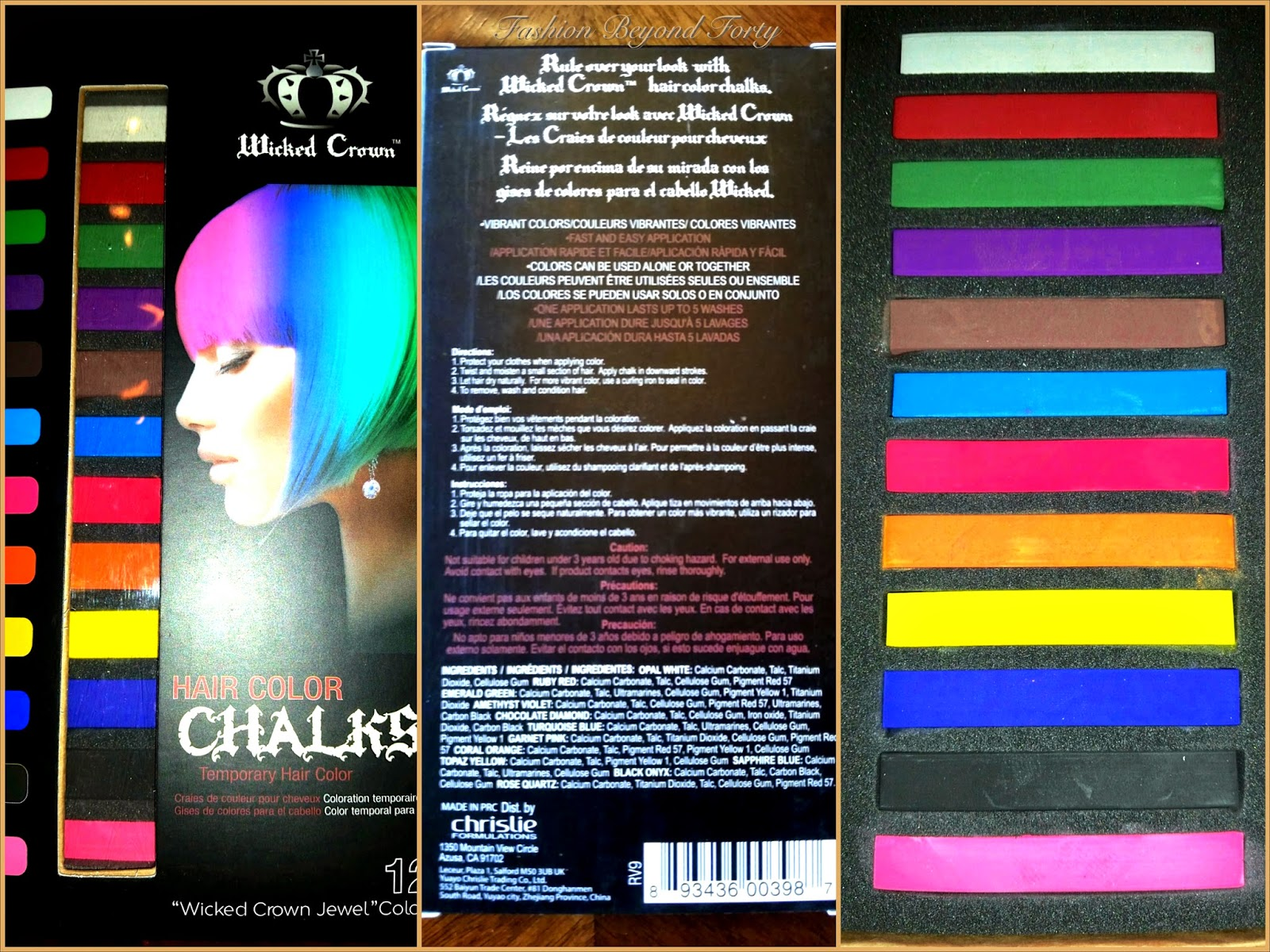 Wicked Crown Hair Color Chalks Review