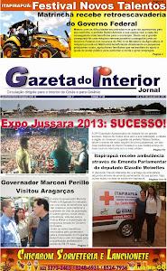 VEJA A EDIÇÃO Nº 46 do Jornal Gazeta do Interior