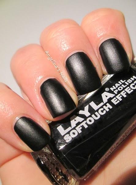 angelina s nails more schwarzer blickfang. Black Bedroom Furniture Sets. Home Design Ideas