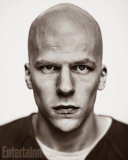 Jesse Eisenberg dans le rôle de Lex Luthor pour Batman v Superman