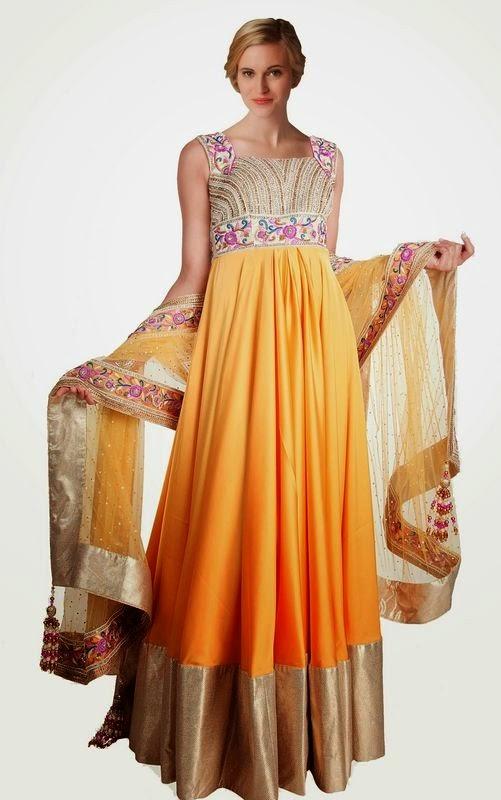 http://mokshafashions.com/salwar-kameez/elegant-off-white-orange-salwar-kameez.html
