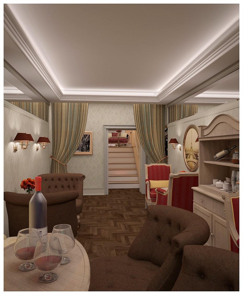 Дизайн гостиницы Реноме отель Renome