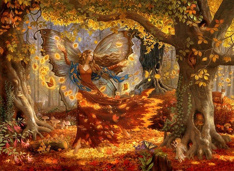 ... Y caen las hojas, llega ....¡¡¡ EL Otoño !!! - Página 8 FallFairy+by+Ruth+Sanderson%255B1%255D