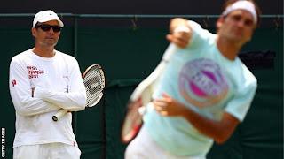 Federer Splits From Coach Annacone