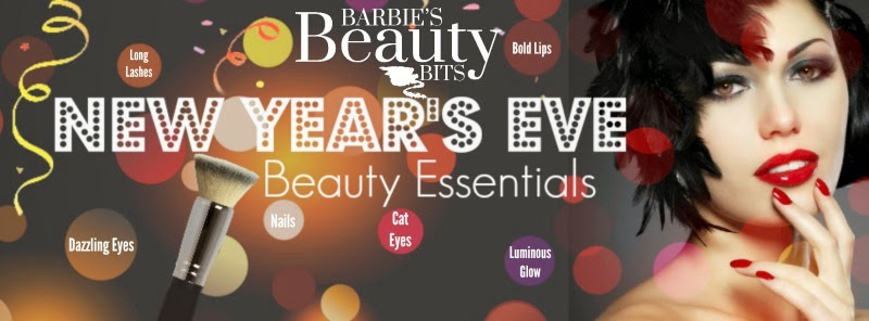 New Year's Eve Beauty Essentials, By Barbies Beauty Bits