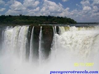 Cataratas de Iguazu desde el lado argentino