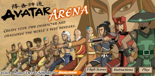 my swf zone, avatar arena, action flash game