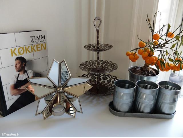 deco cuisine bougies presentoir oranger mini-arbre Copenhague deco scandinave