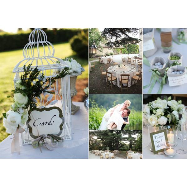 ser usada de diversos modos para decoração sua festa de casamento