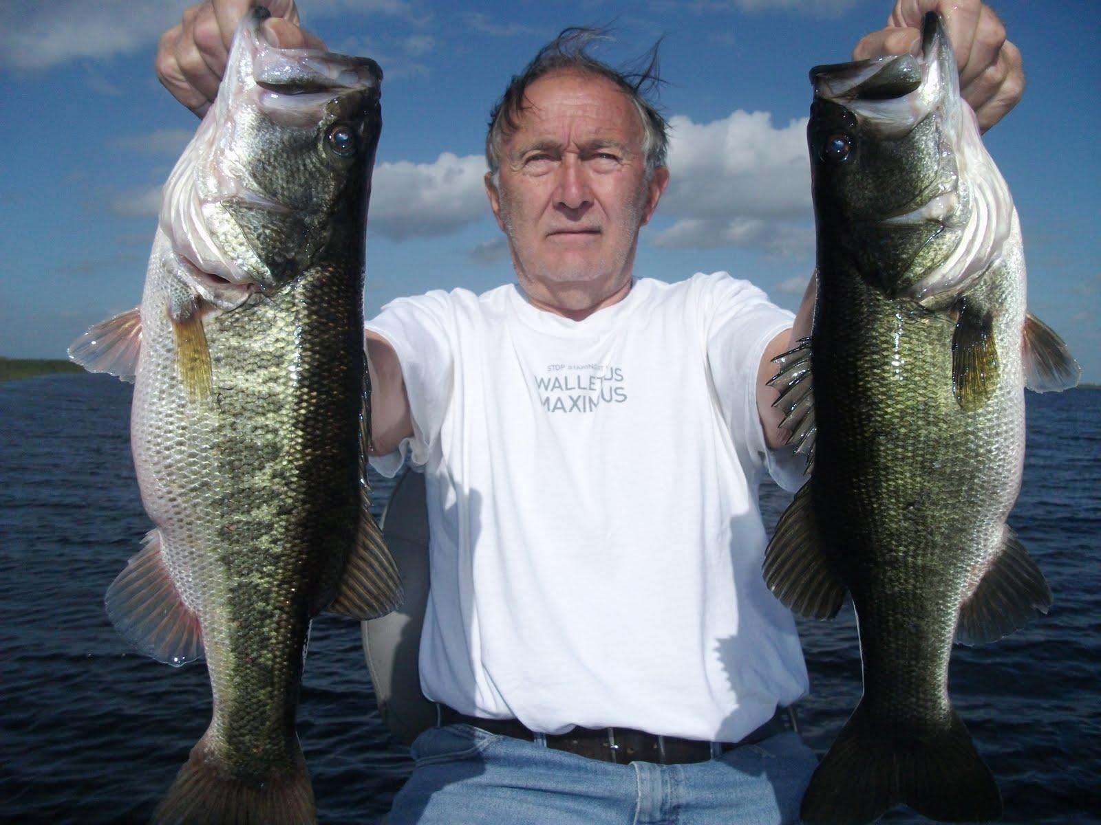 Lake okeechobee fishing guides november big bass of lake for Lake okeechobee bass fishing