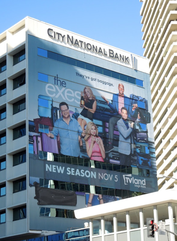 The Exes season 4 billboard