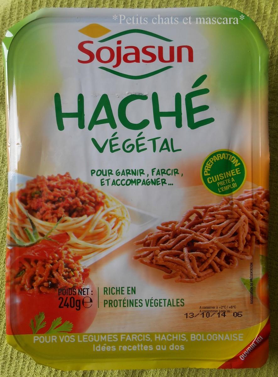 hache vegetal sojasun