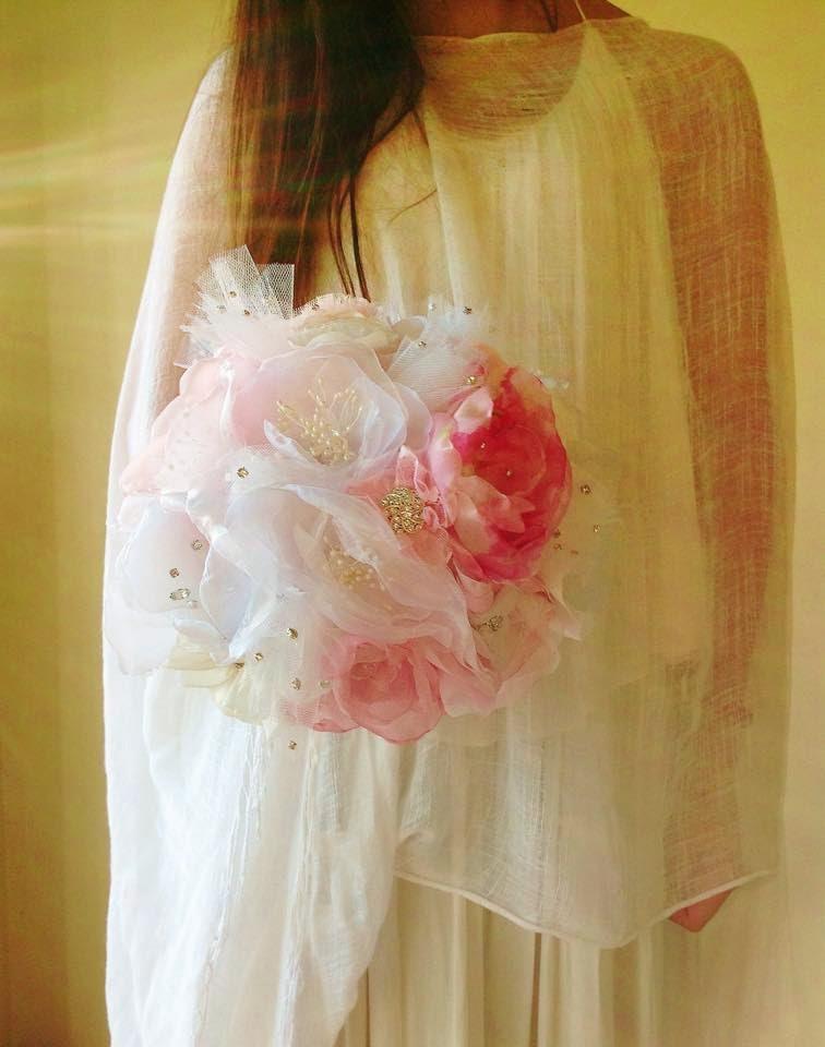 bouquet noiva com brilhantes