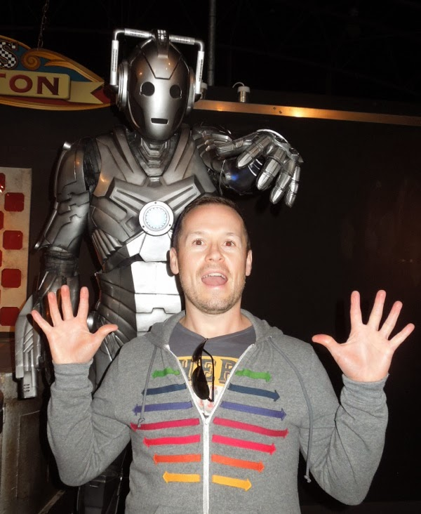 Terrorised by a new Cyberman