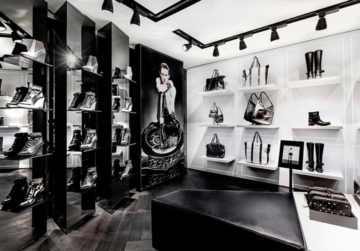 Junio 2014 espacio retail dise o de tiendas marcas de for Tiendas muebles minimalistas