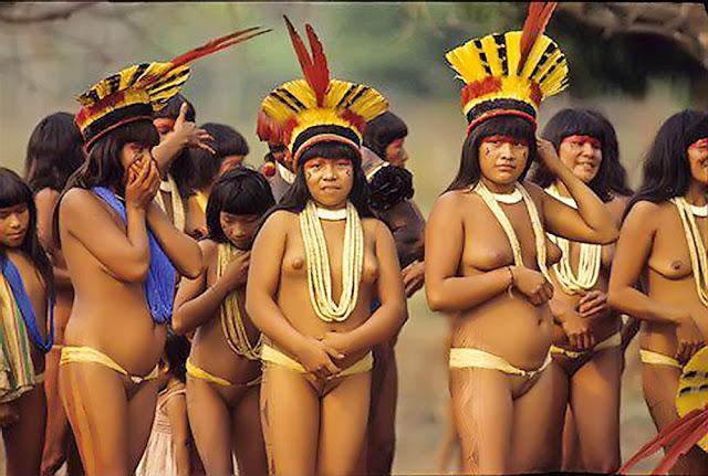 suku xingu suku bugil dari amazon wisbenbae