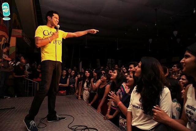 Bangalore Food Fete: StandUp Comedy
