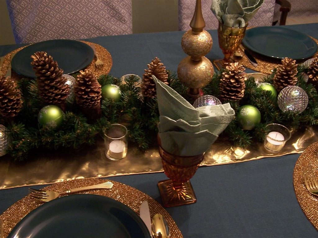 Perennial Passion: Green, Gold & Silver Grey Dining Room ...