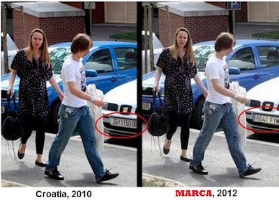 Modric in Madrid (Fake picture)