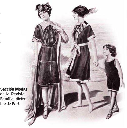 Trajes De Baño Vintage Vina Del Mar:Los trajes de baño