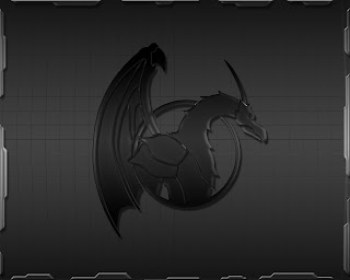 black xp wallpaper dragon