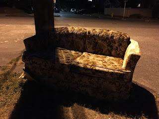 Work that Corner Chintz Couch