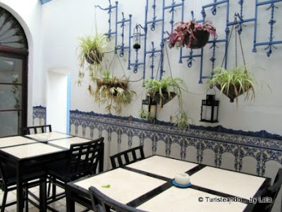 La Casa Noble, Aracena, patio andaluz