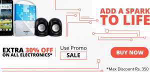 NearBuy Loot - Extra 30% off on All Electronics + 10% Paytm Cashback