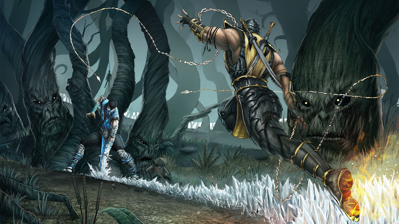 Mortal kombat HD & Widescreen Wallpaper 0.728117825059877