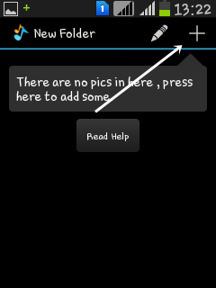 Menyembunyikan foto dan video di Android