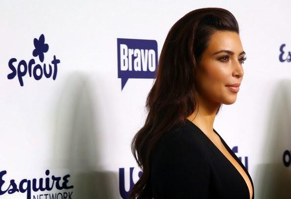 Kim Kardashian Long Hairstyles Long Wavy Cut
