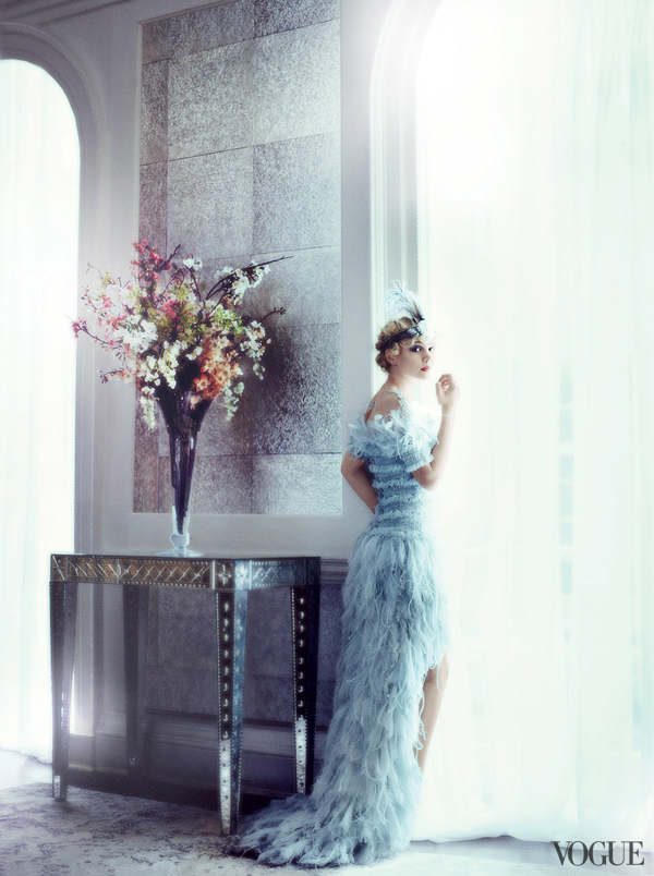 carey mulligan great gatsby vogue cover