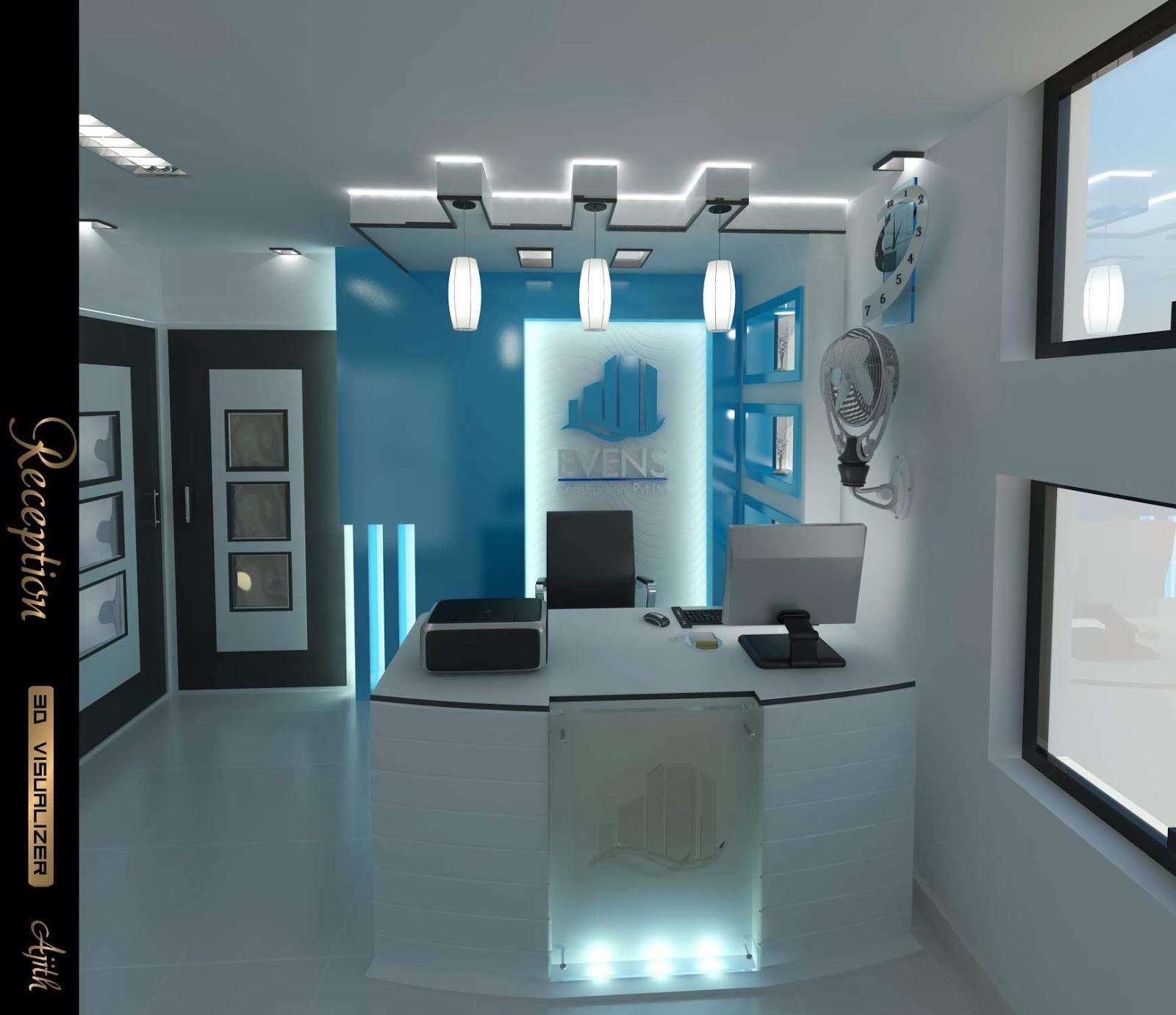 Evens Construction Pvt Ltd Office Design