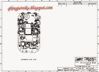 cara membaca skema pada handphone