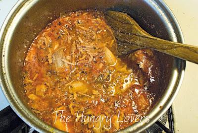 Chicken-Chorizo Tinga Poblana (Shredded Spicy Chicken)