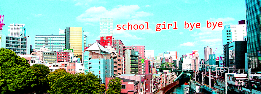 School Girl Bye-Bye