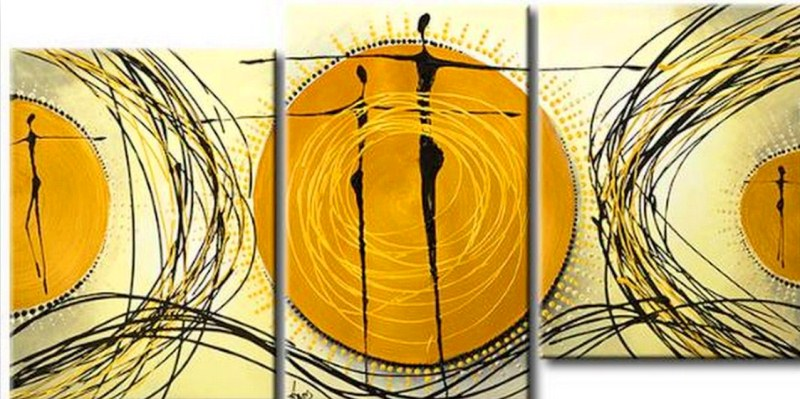 Cuadros modernos cuadros tr pticos - Triptico cuadros modernos ...