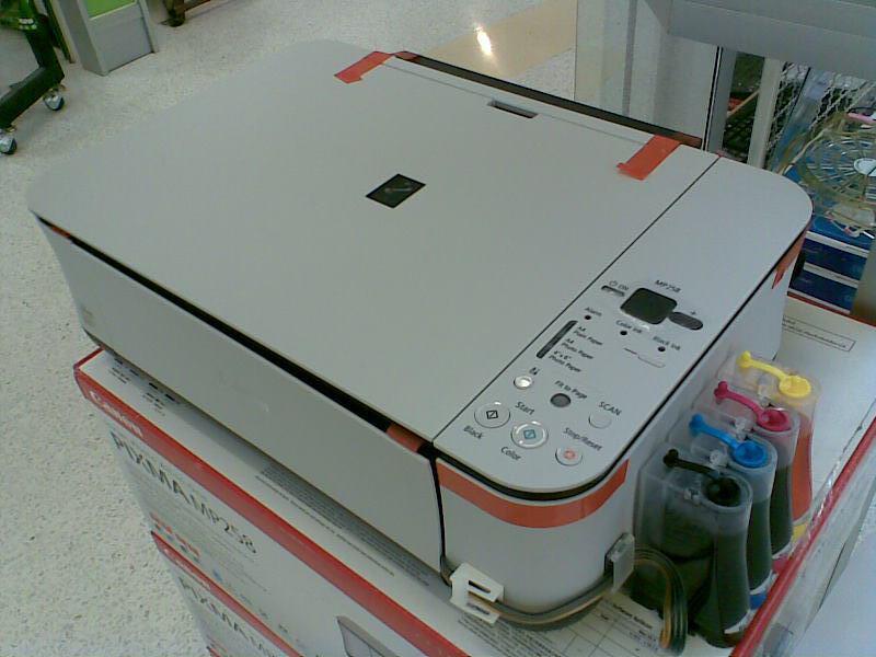 Berbagi Pengalaman Servis Komputer: Servis Printer Canon mp 258 ...